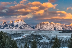 Early Winter At Snake River Overlook